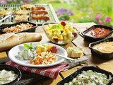 Barbecue vis menu_