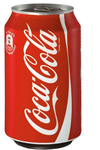 Coca Cola regular blikje 330ml