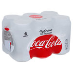 Coca Cola light blik 6x330ml