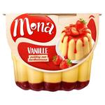 Mona Vanille Pudding Aardbei 450ml
