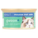 Gwoon Kattenvoer Fijne Mousse Zalm