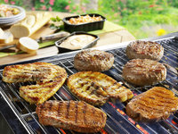 Barbecue mixed grill menu