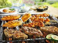 Barbecue halal menu
