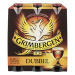 Grimbergen dubbel fles 6x30cl