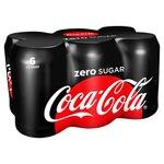 Coca Cola zero blik 6x330ml