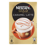 Nescafe Gold Latte Caramel 136gr