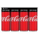 Coca Cola zero blik 8x250ml
